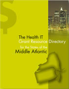 The Health IT Grant Resource Directory - Middle Atlantic States